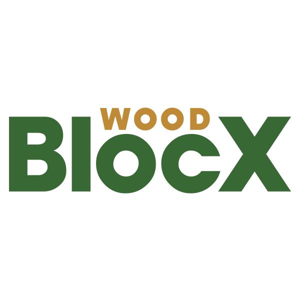 Petite jardinière bois surélevée d'angle arrondie / 0,75 x 0,75 x 0,55m