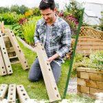 Comment construire un lit surélevé WoodBlocX